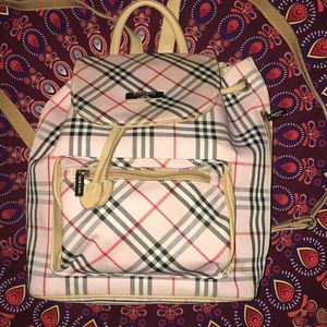 Burberry Backpack Bag